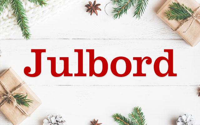 Julbord i Borås @ Sagateatern  Tel. 033- 12 20 22 | Houston | Texas | USA