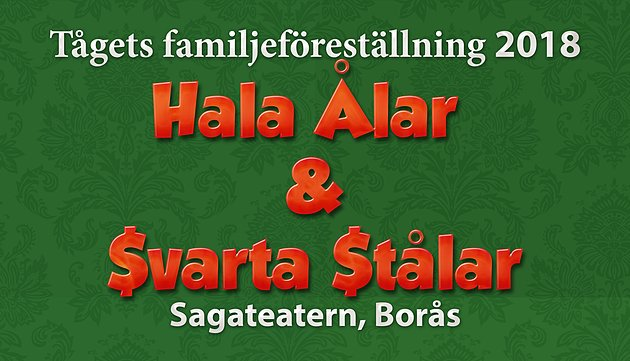 HALA ÅLAR & SVARTA STÅLAR En familjekomedi