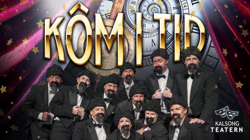 PREMIÄR! Nyårsrevy - Kôm i tid