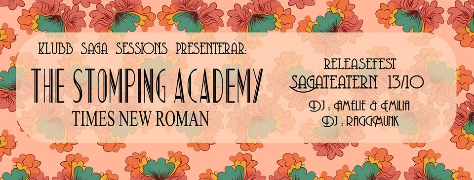 Klubb Saga Sessions - The Stomping Academy