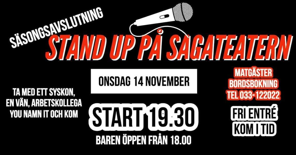 Stand up - Säsongsfinal