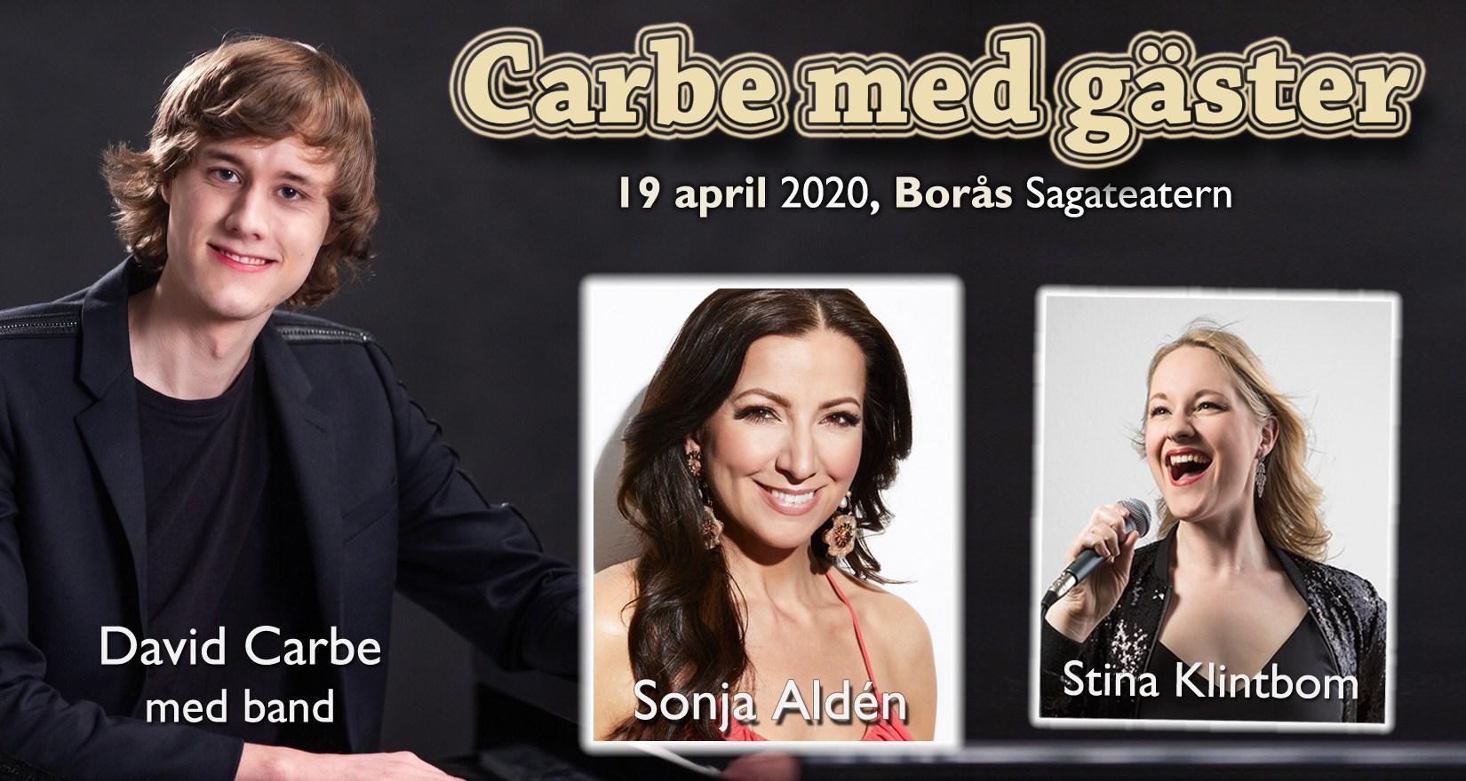 Carbe med gäster - Flyttad till 20 september
